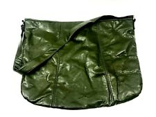 RTR Tote Travel Bag New York Faux Leather Packaging Project Recycled Olive