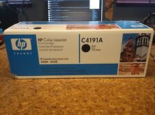 HP C4191A Black Toner -NEW-SEALED IN BOX