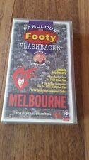 FABULOUS FOOTY FLASHBACKS MELBOURNE DEMONS - REX HUNT - AFL VFL - VHS VIDEO