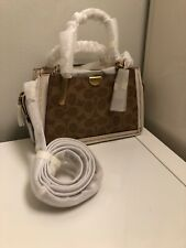 Coach  Bag. SIGNATURE DREAMER 21 MINI SATCHEL. Tan Chalk Color. Brand New.