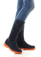 Flache Damenschuhe im Boots-Stil mit 36 Größe