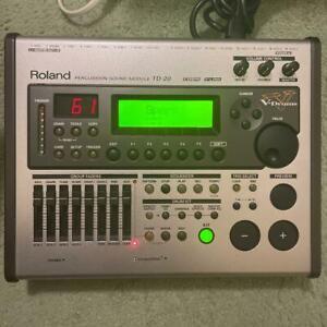 Roland TD-20 V-Drums Drum Sound Module Sound Motor Elektrisch Trommel