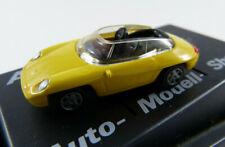 "Porsche Panamericana ""AMS"" gelb r+h in PC-Vitrine 1:87 H0 ohne OVP [BA13]"