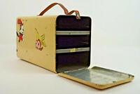 50er Vintage Lunchbox Blechdose Dose Brotbox Brotkasten Metall Mid-Century 60er