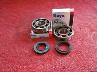 Yamaha TZR125 1987-1992 Koyo Crank bearing & seal kit.NEW