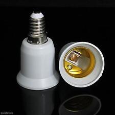 New E14 auf E27 Lampholder verlängern Base LED-Glühlampe Adapter Converter ×1