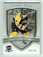 05-06 UD Upper Deck The Cup  Patrice Bergeron  /249
