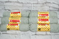 Vintage Spinnerin Yarn Mystique Lot Boucle Gray Color 489 Matched Acrylic Nylon