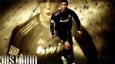 "Cristiano Ronaldo CR7 Football Star Art Wall Poster 21x13""  CR39"