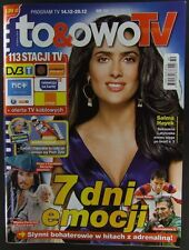 SALMA HAYEK  mag.FRONT cover Poland 50/2013  Anthony Hopkins