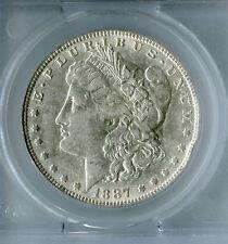 "$1 Top 100 Morgan silver dollar 1887 VAM 1A ""Donkey Tail"""