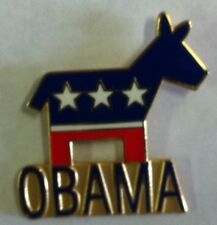 Obama Gold Lapel Pin