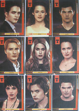 Twilight Breaking Dawn 9 Card Canvas Set with 1 Mini Glossy & Embossed Card