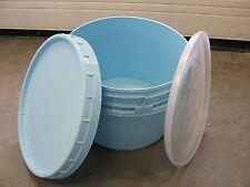 Tonne, Weithalstonne, Futtertonne, Kübel, Kunststoff 50 Liter blau sehr robust
