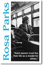 Rosa Parks  Each person must decide MOTIVATIONAL POSTER