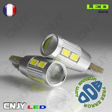 2 AMPOULES NIKKON 10LED SMD T10 W5W BLANC ANTI ERREUR ODB CANBUS PUISSANTE 12V