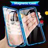 Magnetico Cover per Samsung Galaxy A51 A71 S20 S10 S9 Note 10 custodia 360 vetro