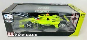 1:18 2020 Greenlight Simon Pagenaud #22 Menards Team Penske IndyCar Diecast