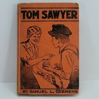 Vintage 1930's Hardcover Book | The Adventures Of Tom Sawyer by Samuel Clemens