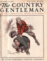 1912 Country Gentleman Cover November 23 - Do you remember playing Leap frog?
