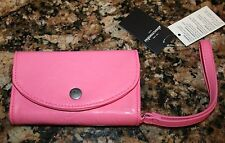 NWT Abercrombie Girls Pink Cell Phone Wristlet