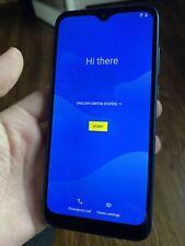 Motorola Moto E (2020) - 32GB - Midnight Blue (T-Mobile) Very Good Condition