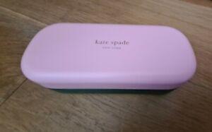 KATE SPADE  Hello Sunshine Glasses/Sunglasses  Case Pink & Green NEw