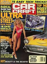 Car Craft Magazine June 1991 496 Impala Project / 11 Second 440 Mopar