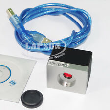 5mp Hd Usb Digital C Mount Microscope Camera Kit 30fs Micron Cmos Industry Pcb