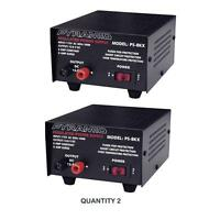 NEW Pyramid PS8KX AC to DC 8Amp 12V Fully Regulated Low Ripple Power Supply Pair