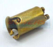 RUBBOLITE / TRUCK-LITE 1102 DOUBLE TWIN CONTACT POLE BRASS BULB HOLDER