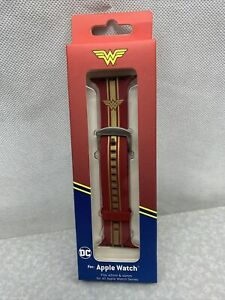 Apple Watch Band Officially Liscensed DC Wonder Woman WB 44mm 42mm RR57