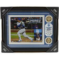 Salvador Perez Kansas City Royals 2015 World Series MVP Gold Coin Photo Plaque