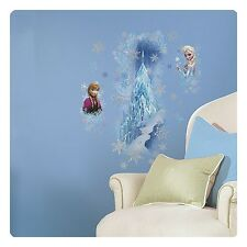 Disney Frozen Wall Decals Stickers GIANT Elsa Anna Decal Ice Palace Roommates