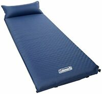 Coleman Self-Inflating Camping Pad with Pillow,Tufted Design,No Air Pump Require
