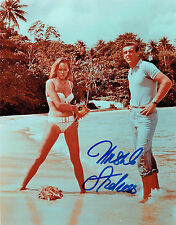 Ursula ANDRESS James Bond Girl Dr No SIGNED 10x8 Autograph Photo AFTAL COA