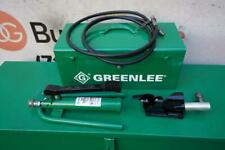 Greenlee 800 Cable Bender With 1725 Foot Pump 250 1000 Kcmil Works Great