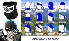 Halstuch Multifunktions Bandana Totenkopf Skull Snowboard Biker Tuch Ski Mütze