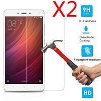 2PCS 9H Premium Tempered Glass Film Screen Protectors For Xiaomi Redmi Note 4