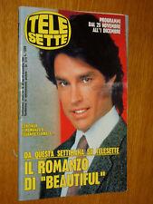 TELESETTE 1990/48=RONN MOSS=SABATO AL CIRCO=ORNELLA VANONI=DERRICK=CORRADO M.