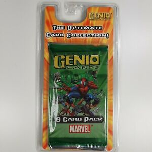 Genio Marvel The Ultimate Card Collection - 9 Card Pack - Brand New Sealed
