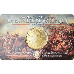 Belgium 2 1/2 Euro Commemorative Battle of Waterloo Coin, 2015 Uncirculated