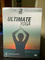 Ultimate Yoga DVD platinum collection 3 discs toning workout health fitness PAL