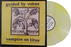 GUIDED BY VOICES LP Vampire On Titus CLEAR & YELLOW Vinyl Record Store Day