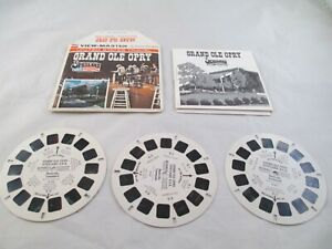 View Master United States Travel, Grand Ole Opry  3 reels & Booklet H83