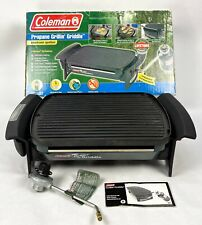 Vintage Coleman Propane Grillin' Griddle Grill 9931-750 Portable Electronic Igni