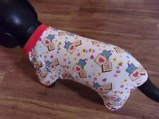 "dog pajamas,stretchy,""For You With Love"",bear,Large (*read details for size!)"