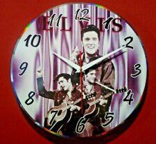 Reloj hecho a mano sobre disco de vinilo - Elvis Presley