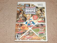 New Basketball Hall-of-Fame: Ultimate Hoops Challenge Nintendo Wii Free Shipping