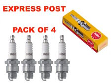 NGK SPARK PLUGS SET BCPR7ES-11 X 4 - Holden Commodore VL 3.0L Saab 9000 2.0L